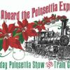 All Aboard the Poinsettia Express